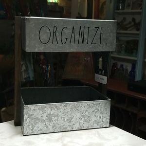 Rae Dunn Galvanized Organize shelf bins